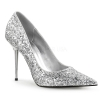 APPEAL - 20G Silver Faux Leather Glitter